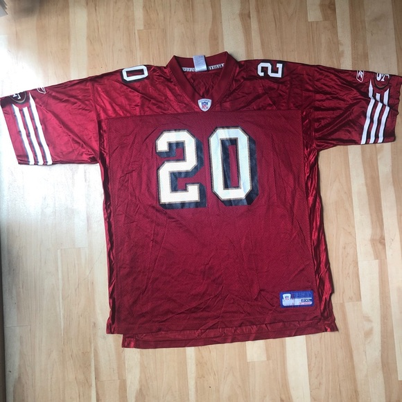 low priced 79a80 6abb2 🏈 Authentic 49ers Garrison Hearst Jersey XXL #20